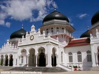 Masjid Raya Baiturrahman Aceh