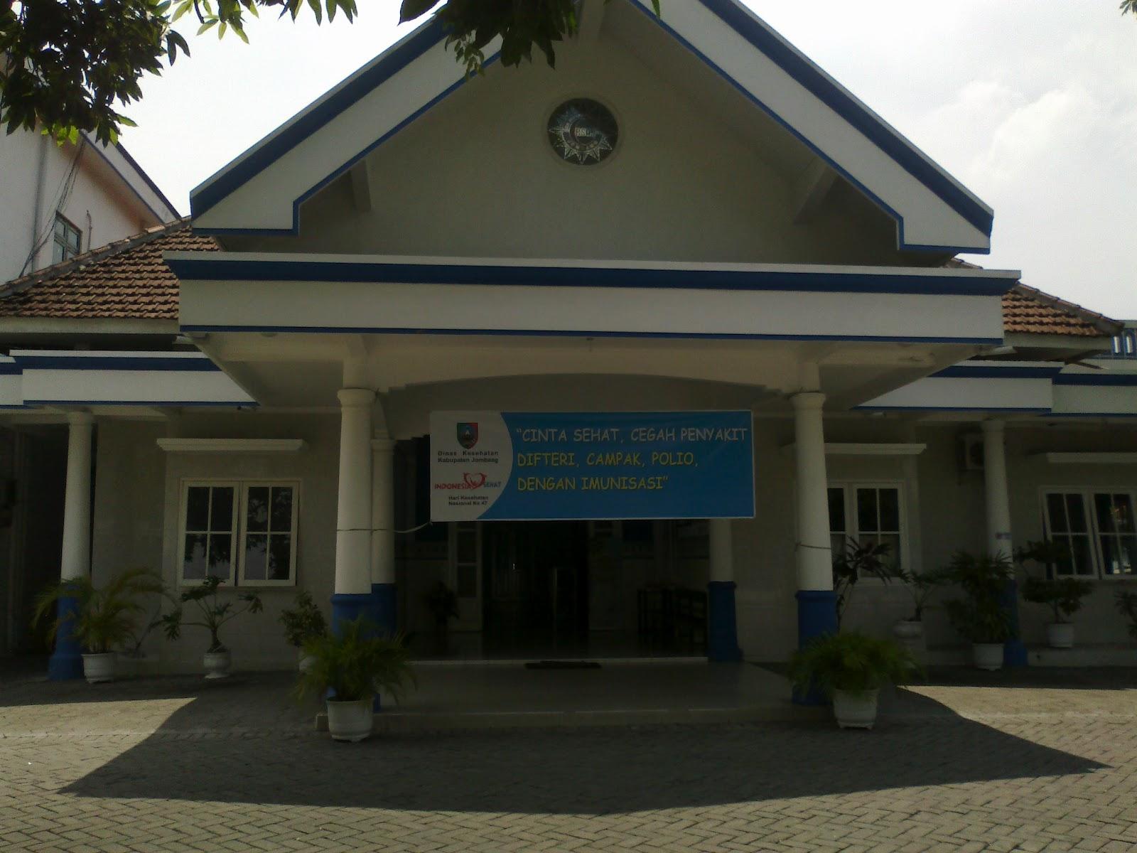 salah satu gedung awal berdirinya RS Muhammadiyah Jombang