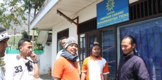 PCM Delanggu saat bersilaturahmi di PCM Tieng