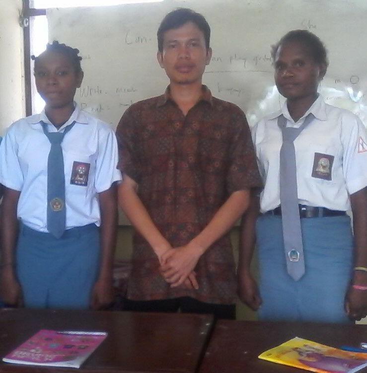 Bersama murid-murid Papua yang luar biasa