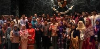 International Youth Conference and Tranning On Countering Terrorism Ikatan Mahasiswa Muhammadiyah di Balai Agung, Balai Kota, Jakarta, Minggu 13 Maret 2016