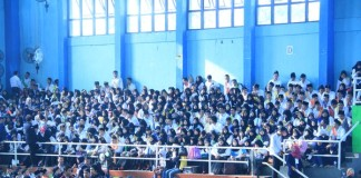 Mahasiswa Baru UMT saat taaruf