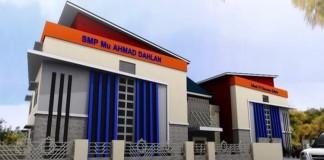 Design Gedung SMP Muhammadiyah Ahmad Dahlan