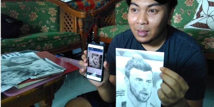 Lilih Sasongko, pemuda warga Dusun Semen RT 09 RW 04, Purwosari, Tegalrejo, Mungkid mendadak jadi buah bibir di dunia maya. Pasalnya, lukisan wajah pemain sepak bola karyanya mendapatkan apresiasi dari Juventus FC.