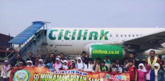 Kontingen SD Muhammadiyah Sapen