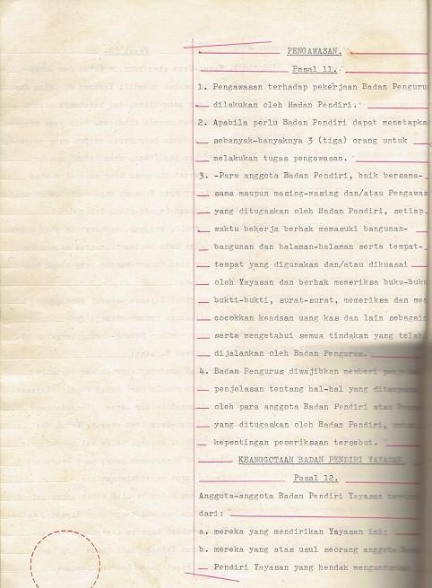 AKTA no. 34 tanggal 22 Maret 1983