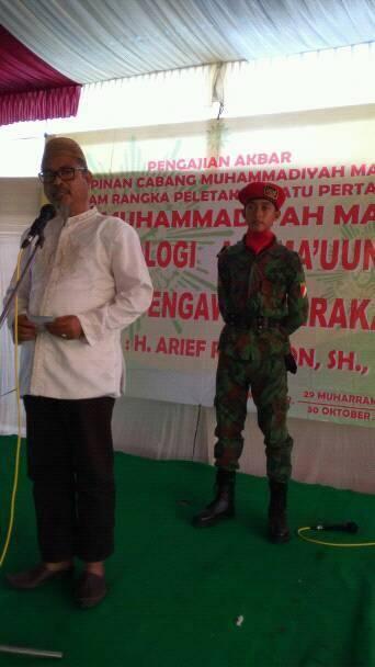 Ketua Panitia Pembangunan PKU Maos (Foto: Amin Maruf)