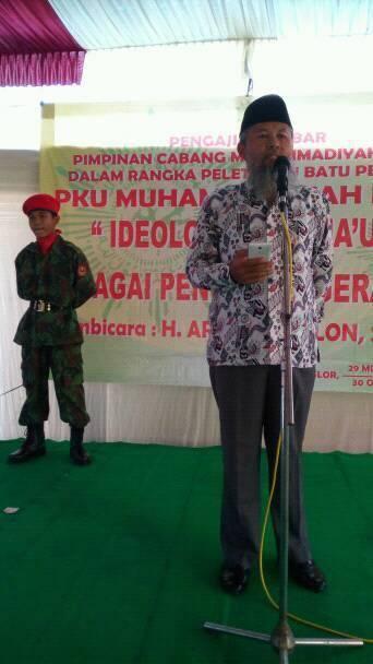 Ketua PDM Cilacap Memberi Sambutan (Foto: Amin Maruf)