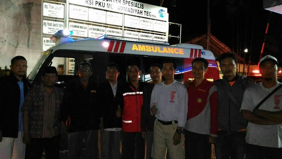 Pemberangkatan Tim di RSI Muhammadiyah Tegal