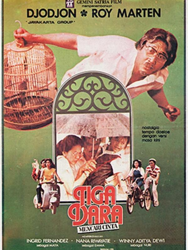 Film Tiga Dara Mencari Cinta. (via Wikipedia)